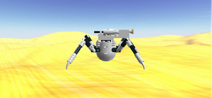 Arach Pest Control Droid Right Side View by mafia279