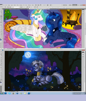 WIP Livestream - Sister Talk + Zecora by tinuleaf