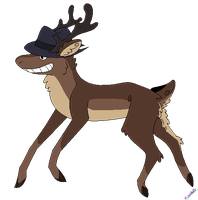 Deer adoptable -CLOSED- by ForsakenShadows