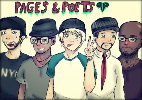 pages and  poets by sammyhold