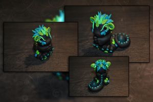 Baby Orb Dragon by KirstenBerryCrafts
