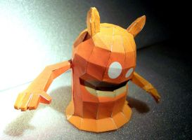 De Blob Papercraft by kamibox