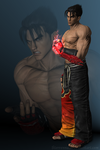 TTT2 - Jin Kazama (default) by Sterrennacht