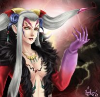 Ultimecia by VanEvil