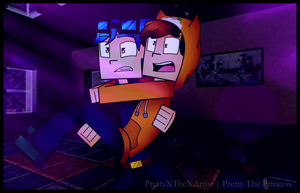 Minecraft Story Mode: Run Dan! Run Stampy! RUN! by PrettyXTheXArtist