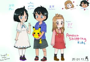 Amourshipping Kids by YuukiLF