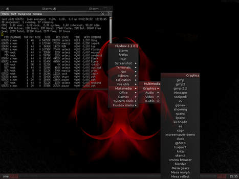 FreeBSD + Fluxbox by LethalJellyBean