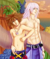 Home -Riku x Sora- by Kingdom-Hearts-Yaoi