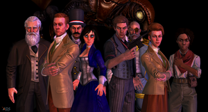 Bioshock Infinite again by Shamalayah
