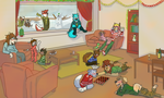 Christmas Special Group Pic Part 2 *Messy* by tugscarebear