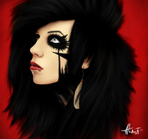 Andy Biersack by hannie001