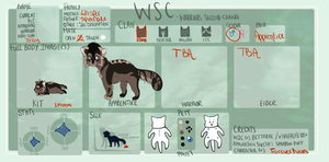 Tumblepaw| Stoneclan Apprentice| WSC | by foreverneon