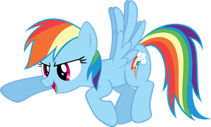 Rainbow Dash Points by Knight725