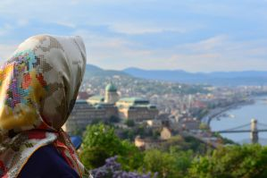 Looking over Budapest by buffyka