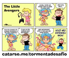 LIttle Avengers - O Desafio dos Deuses by CaptainNinja