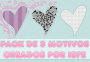 Pack de 3 Motivos by isfe by Isfe