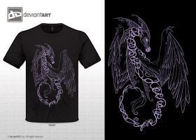 Dragon T-shirt Design by Enchantress-LeLe