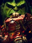 Age of Ultron Fan Art - Digital Oil Painting by JonathanRudolph