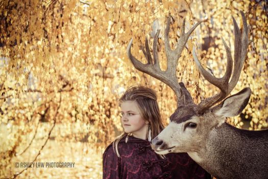 She talks to animals by ashleylawphotography