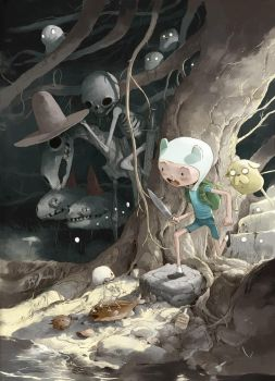Adventure time alternative cover by tonysandoval