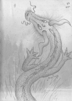 Asian Lung Dragon by Nephilimist