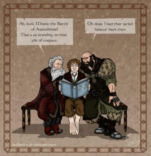 The Hobbit: Precious Memories by wolfanita