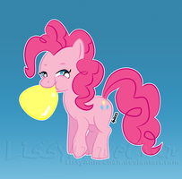 Pinkie Pie - CAN'T PARTY WITHOUT BALLOONS! by LissyAnneChan