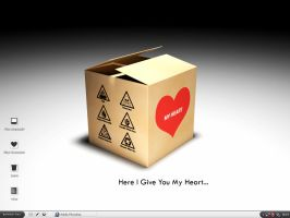 Here I give you my heart by am2m