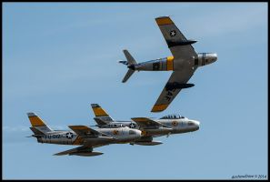 Horsemen Break by AirshowDave