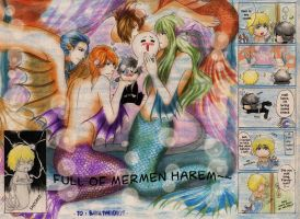 Request_Mermen by MizuYuKiiro