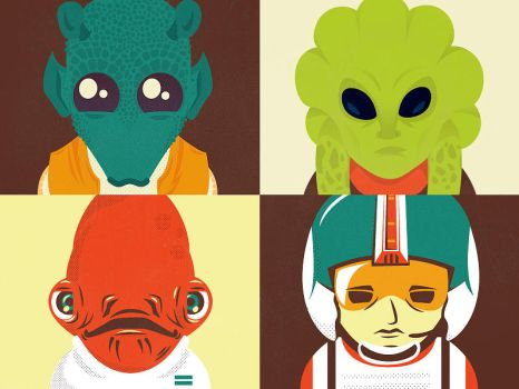 Star Wars Secondary Characters by whatthehell123456789