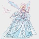 Blue Fairy Sketch by NoFlutter
