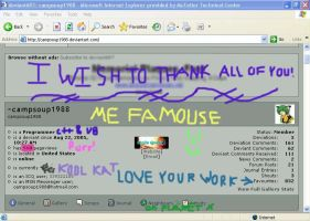 CampSoup1988's 500th PageViews by campsoup1988