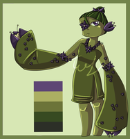Draw to Adopt - Plant Girl - CLOSED by teaunicorn