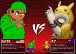 Nate vs. Ry LIVE AND LET DIE by greenate