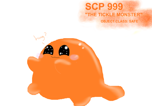 SCP 999 by depressionghoul