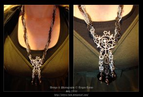 Spiral Necklace by Jetyra-Luck