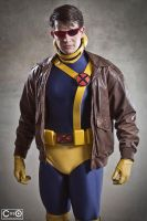 Michael Cox as Cyclops by moshunman