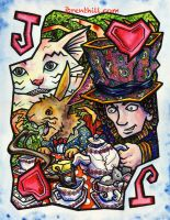 Wonderland Jack Card by jbrenthill