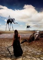 Tribute to Salvador Dali by Sir-SiriX