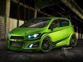 Gurnade Chevy Aero RS by BarneyHH