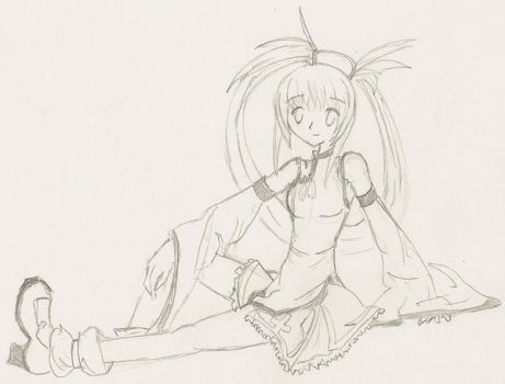Jam Kuradoberi - Pencil Sketch by Nagisa-Furukawa