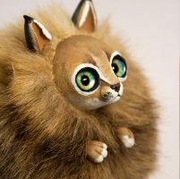 Caracal Cat Furry Creature by RamalamaCreatures