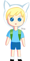 Adventure Time - Finn, The Human Chibi v1 by Matchstar