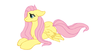 Too Shy to Flutter by horsefever