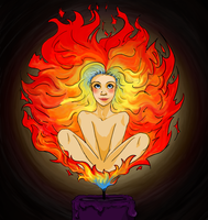 Fire Revise- Element girls by NeedleToTheGroove