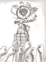 RISE AGAINST by Eddie-Nash