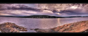 Panorama Oslofjord sunset by CLithen