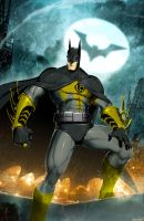 Sinestro Corps Batman by XxDan-The-ManxX