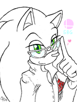 .: Sonic - Tegaki 004 :. by carriepika